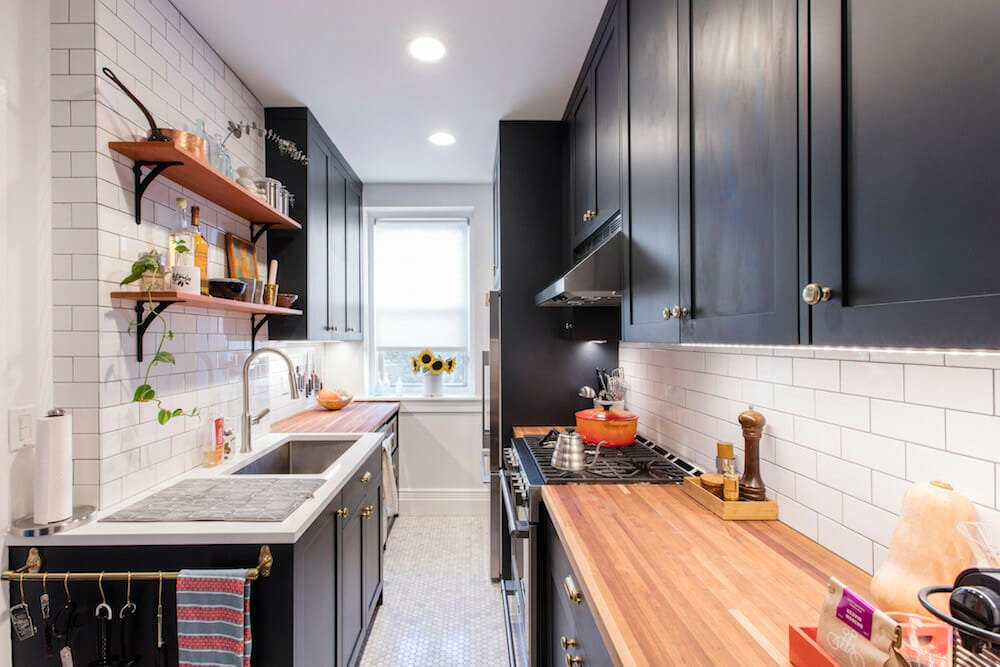 A Queens Galley Kitchen Renovation For A Former Chef