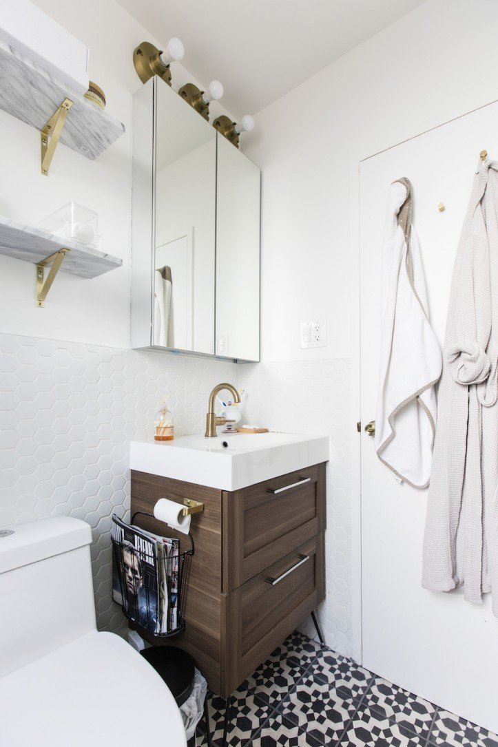 5 Homeowners Use an IKEA Bath Vanity for a Modern Look