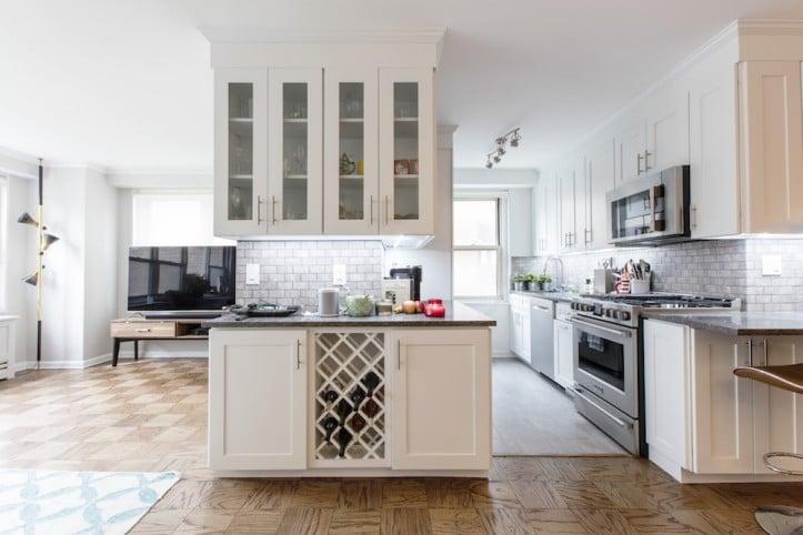 como fazer uma cozinha maior