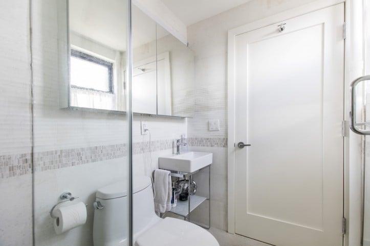 Kensington, Brooklyn, home renovation, bathroom, renovation, shower, toilet, Brooklyn grandparents