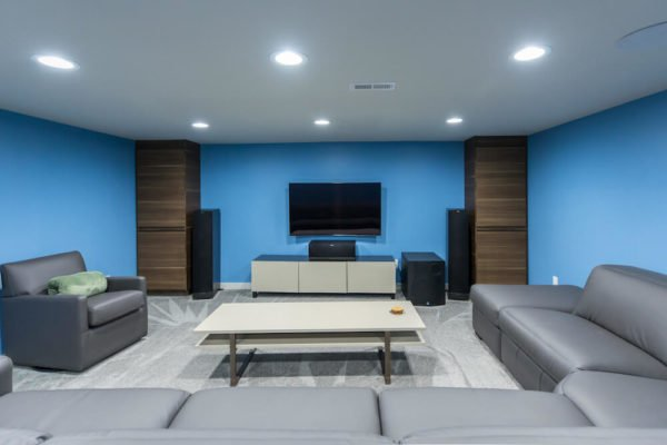 A Philly Basement Designed for Fun