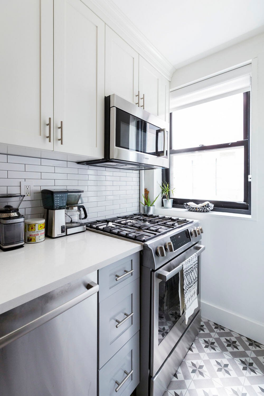 Clinton Hill, Brooklyn, renovation, kitchen, stove, tile