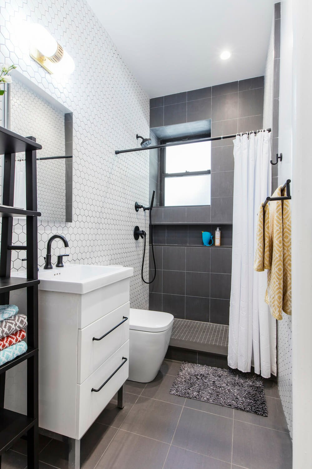 Carnegie Hill, Manhattan, apartment combination, design, construction, bathroom