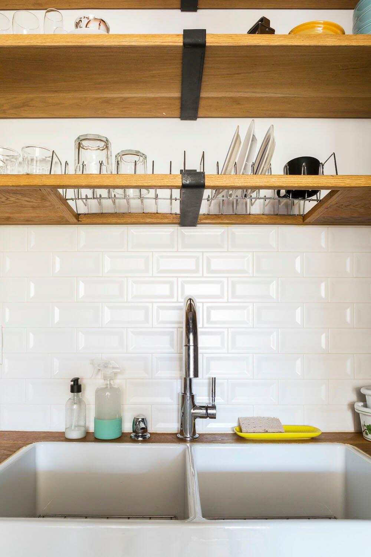 Park Slope, Brooklyn, home, renovation, kitchen sink, design, construction, brownstone co-op renovation