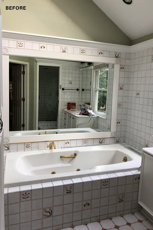 Bad vor der Renovierung