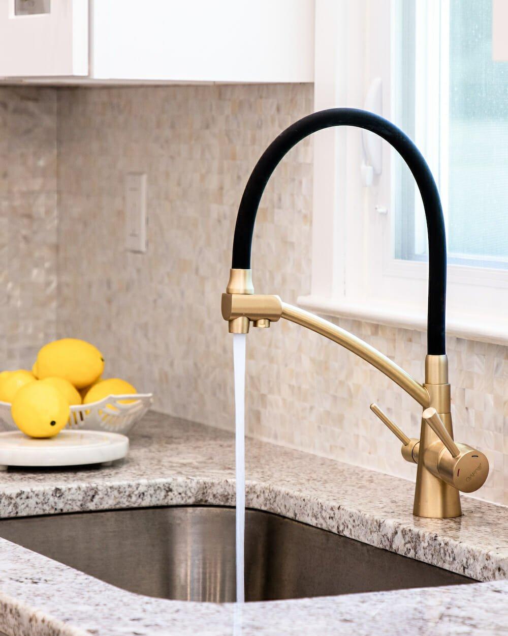 Küchenspüle Wasserhahn