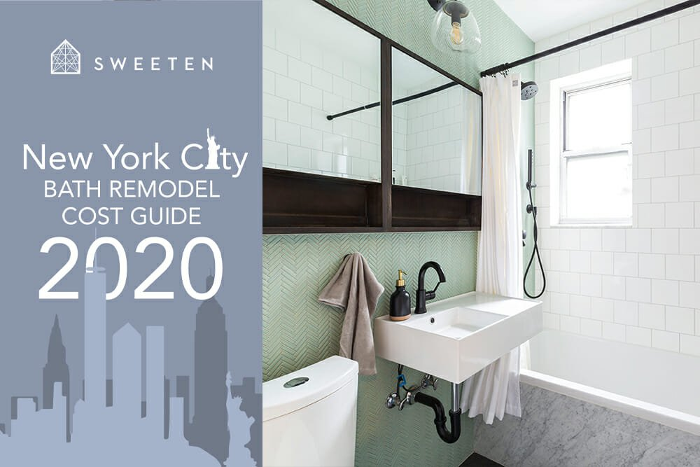 NYC bathroom remodel costs