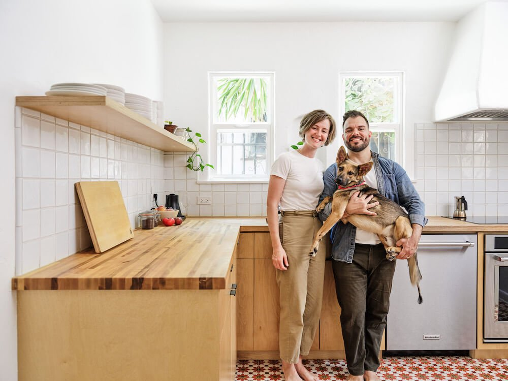 My Sweeten Story: A 1930s Kitchen Gets a Chic Vibe in LA